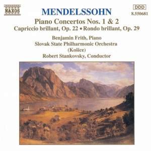 Mendelssohn: Piano Concertos Nos. 1 & 2, Capriccio brillant, Rondo brillant