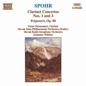 Spohr: Clarinet Concerto Nos. 1 & 3 Product Image