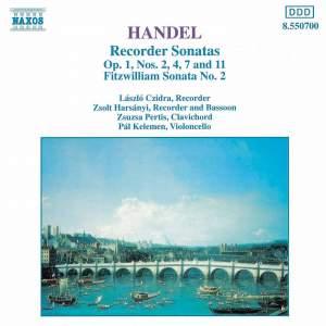 Handel: Recorder Sonatas Product Image