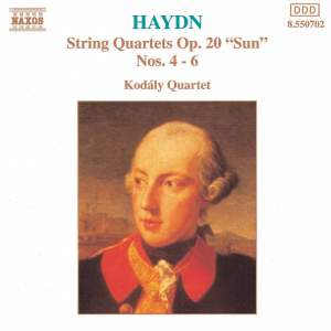 Haydn: String Quartet, Op. 20 No. 4 in D major 'Sun', etc.