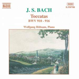 Bach, J S: Toccatas, BWV910-916 Product Image