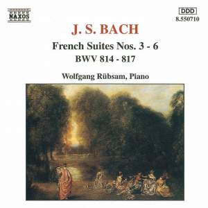 JS Bach: French Suites Nos. 3 - 6 Product Image