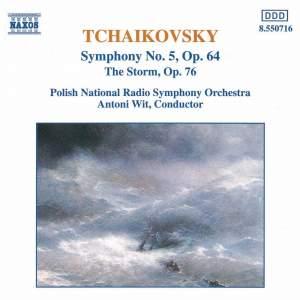 Tchaikovsky: Symphony No. 5 & The Storm Overture Product Image