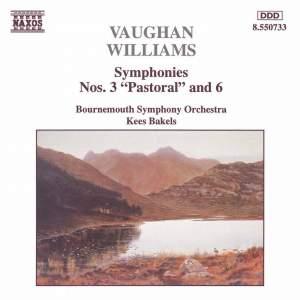 Vaughan Williams - Symphonies Nos. 3 & 6 Product Image