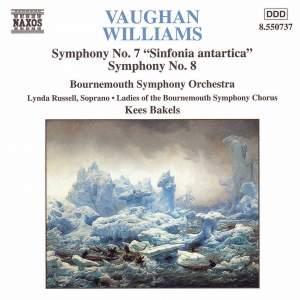 Vaughan Williams - Symphones Nos. 7 & 8 Product Image