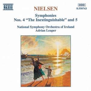 Nielsen: Symphony No. 4, Op. 29 (FS76) 'The Inextinguishable', etc. Product Image