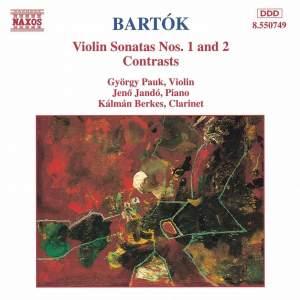 Bartók: Violin Sonatas Nos. 1 & 2 and Contrasts