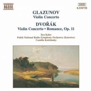 Dvorak & Glazunov: Violin Concertos & Dvorak: Romance