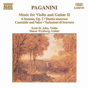 Paganini: Music For Violin And Guitar, Vol. 2
