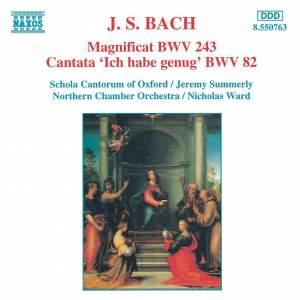 Bach: Magnificat & Cantata 'Ich hab genug' Product Image