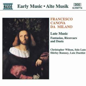 Francesco Canova Da Milano - Lute Music