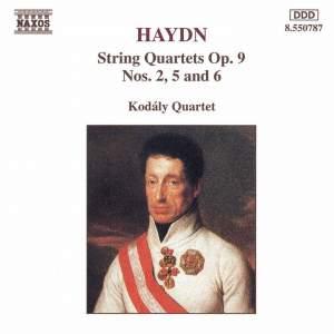 Haydn: String Quartets Op. 9 Nos. 2, 5 & 6 Product Image
