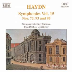 Haydn - Symphonies Volume 15 Product Image