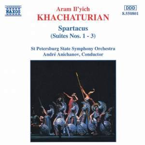 Khachaturian: Spartacus Ballet Suites Nos. 1-3
