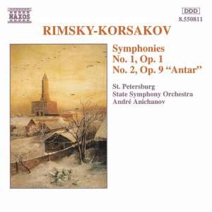 Rimsky Korsakov: Symphonies Nos. 1 & 2 Product Image