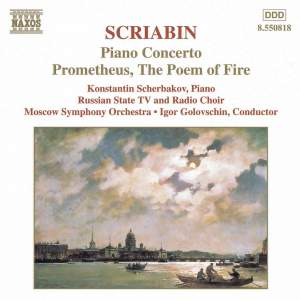 Scriabin: Piano Concerto, Prometheus & other works for piano and orchestra