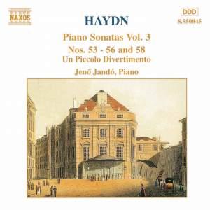 Haydn - Piano Sonatas Volume 3