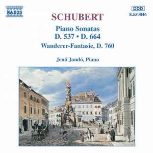 Schubert: Piano Sonata No. 13 in A major, D664, etc. Product Image