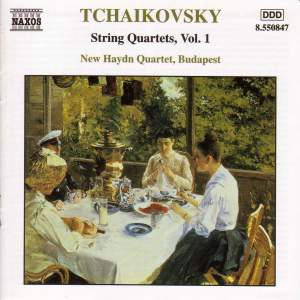 Tchaikovsky: String Quartets, Vol. 1 Product Image