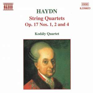 Haydn: String Quartets Op.17 Nos.1, 2 and 4 Product Image