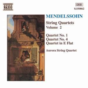 Mendelssohn: String Quartets. Vol. 2 Product Image