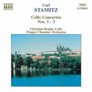 Stamitz, C: Cello Concerto No. 1 in G major, etc.