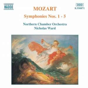 Mozaert: Symphonies Nos. 1-5 Product Image