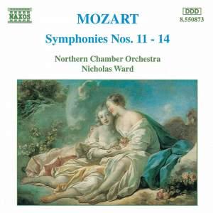 Mozart: Symphonies Nos. 11-14 Product Image