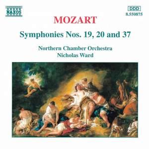 Mozart: Symphony No. 19 in E flat Major, K132, etc. Product Image
