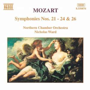 Mozart: Symphonies Nos. 21-24 & 26 Product Image