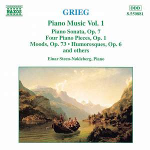 Grieg: Piano Music Vol. 1 Product Image