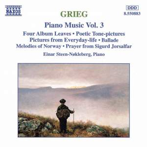 Grieg: Piano Music Vol. 3 Product Image