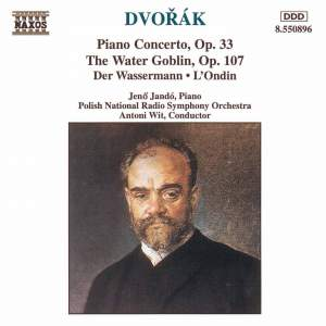 Dvorak: Piano Concerto & The Water Goblin Product Image