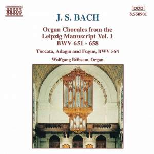 J.S. Bach: Organ Chorales from the Leipzig Manuscript, Vol. 1