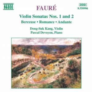 Fauré - Violin Sonatas Nos. 1 & 2