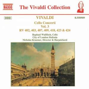 Vivaldi - Cello Concertos, Vol. 3 Product Image