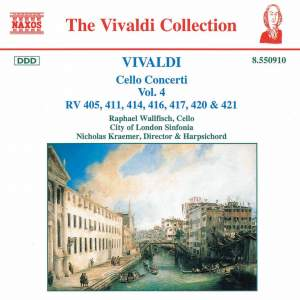 Vivaldi: Cello Concertos Vol. 4