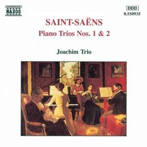 Saint-Saëns: Piano Trios Nos. 1 & 2