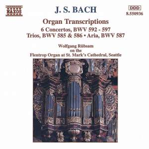 J. S. Bach: Organ Transcriptions Product Image