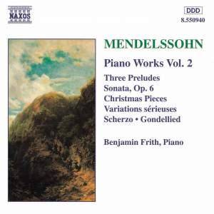 Mendelssohn: Piano Music Vol. 2 Product Image