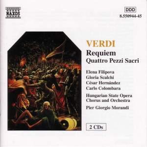 Verdi: Requiem & Quattro Pezzi Sacri