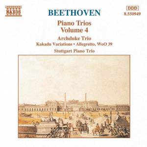 Beethoven: Piano Trios Vol. 4 Product Image