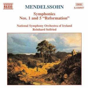 Mendelssohn: Symphonies Nos. 1 & 5 Product Image