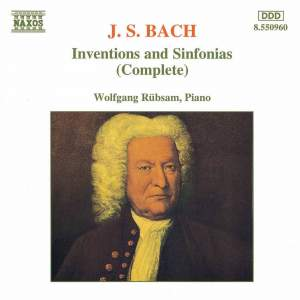 Bach: Complete Inventions and Sinfonias