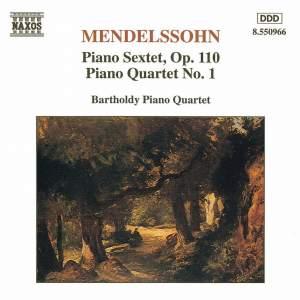 Mendelssohn: Piano Sextet & Piano Quartet No. 1 Product Image