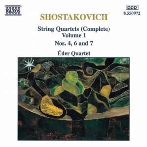 Shostakovich: String Quartets Nos. 4, 6 & 7 Product Image