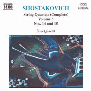 Shostakovich: String Quartets Nos. 14 & 15 Product Image