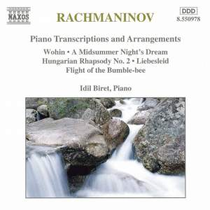 Rachmaninov: Piano Transcriptions & Arrangements Product Image