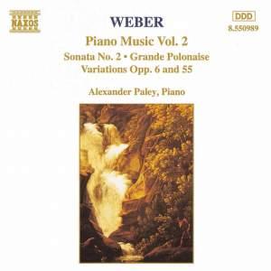 Weber: Piano Music Vol. 2
