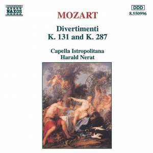 Mozart: Divertimentos Product Image